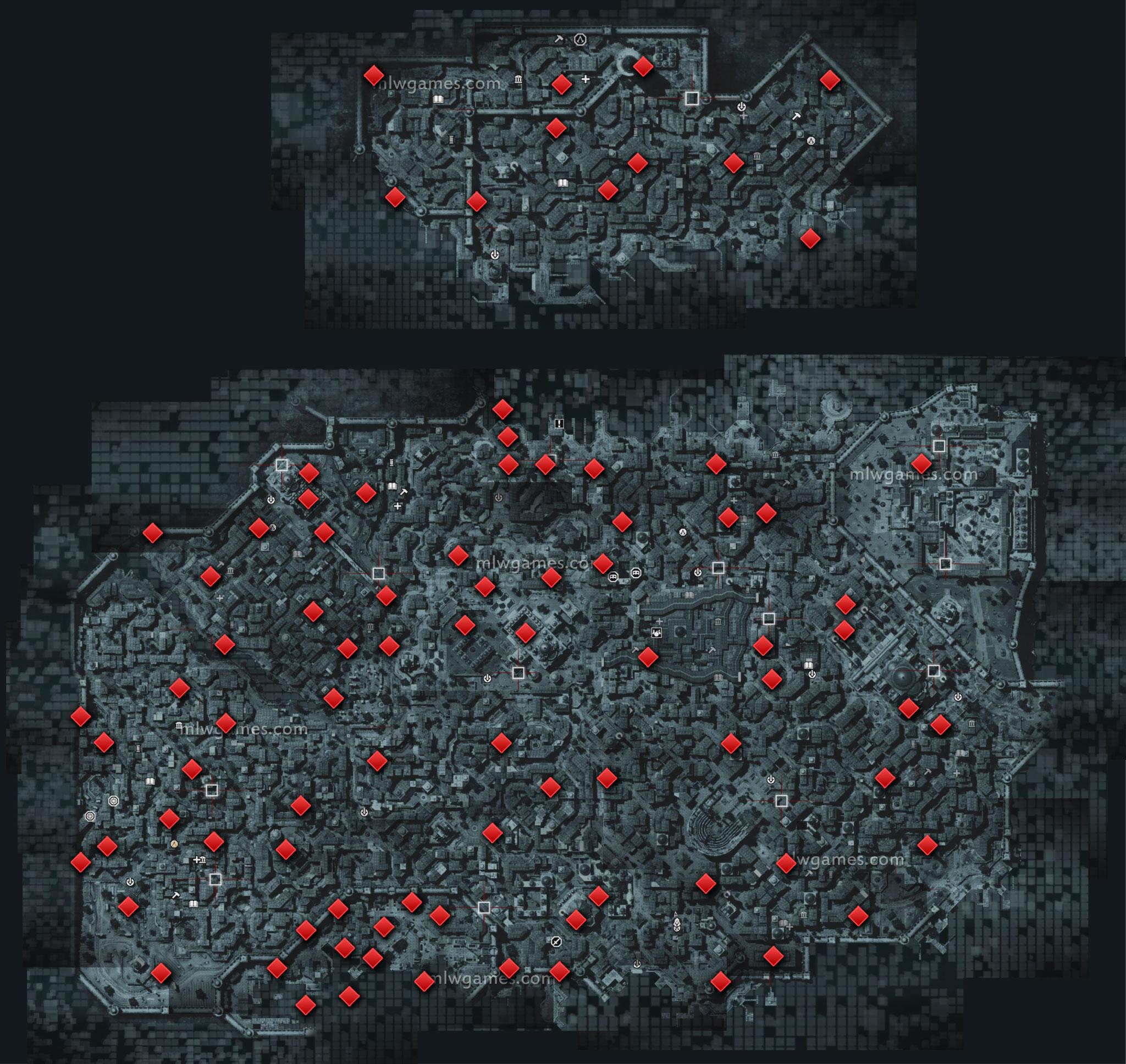 Карта Страниц Мемуаров Исхак-Паши
