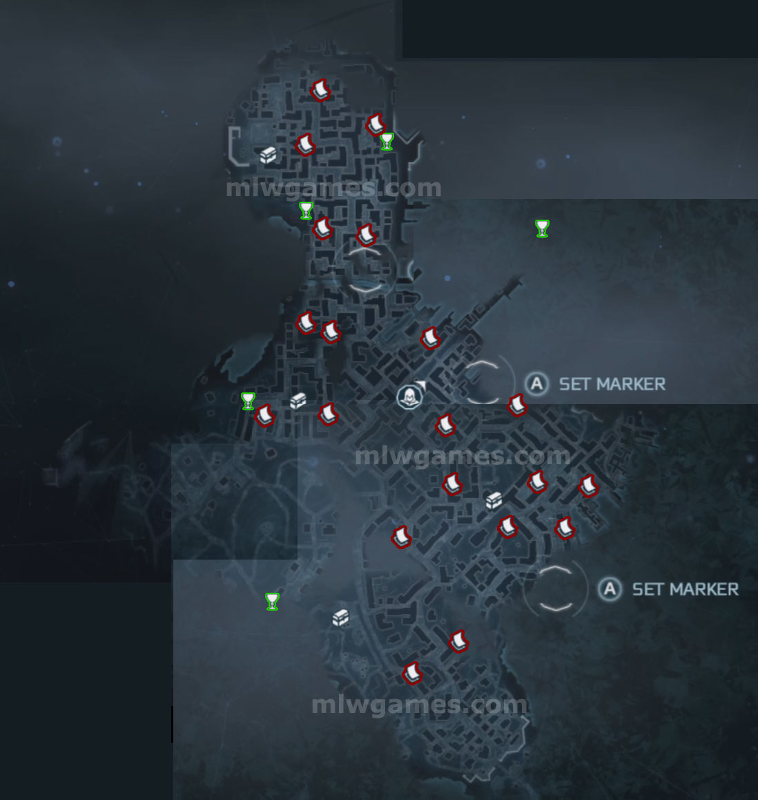 Assassin S Creed 3 Maps