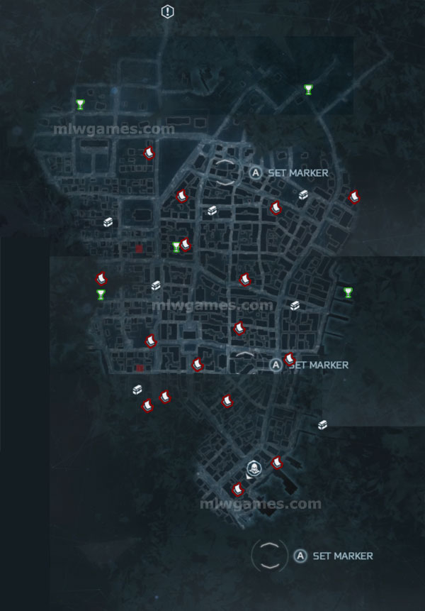 AC3 New York Map
