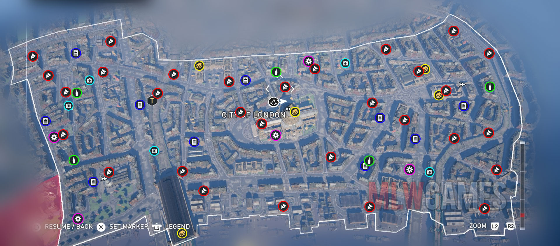 City Of London Collectibles Location Guide Assasin S Creed Syndicate