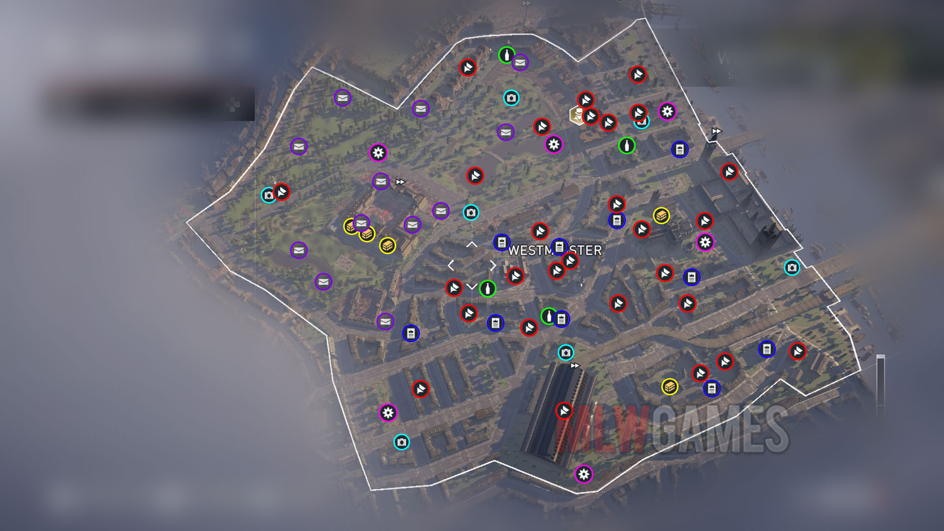 Westminster Collectibles Location Guide Assasin S Creed Syndicate