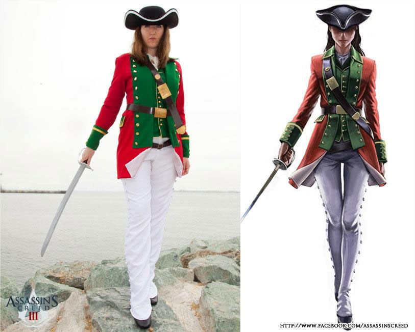 Assassin S Creed 3 Multiplayer Cosplay Sdcc Mlw Games