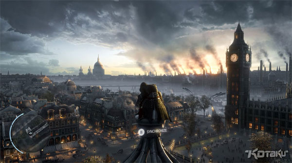 Assassins Creed Victory London Skyline