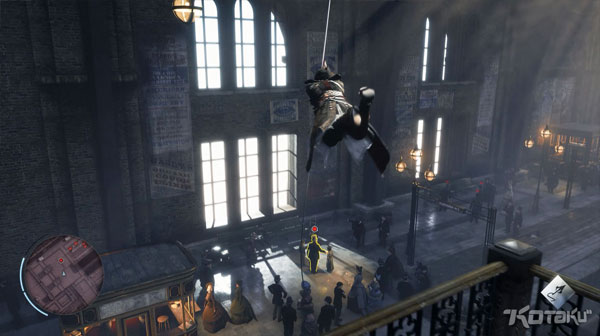 Assassins Creed Victory Charring Cross Station