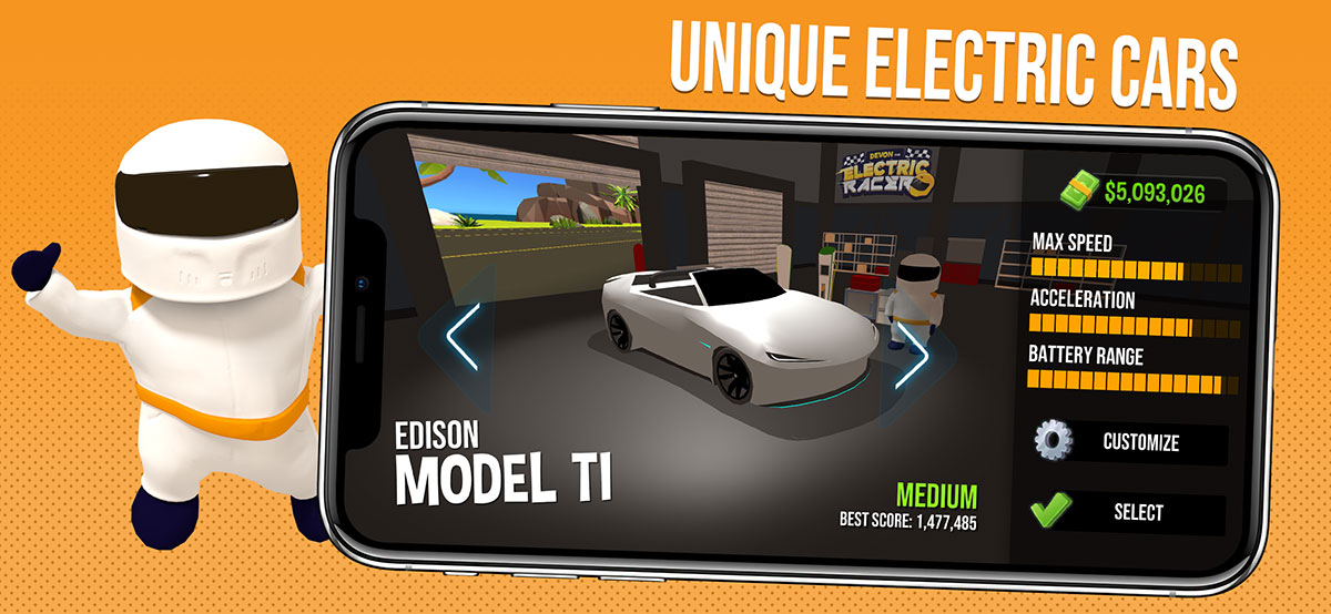 Unique electric cars