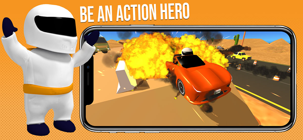 Be an action hero