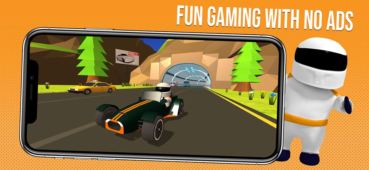 Ad-free mobile gaming