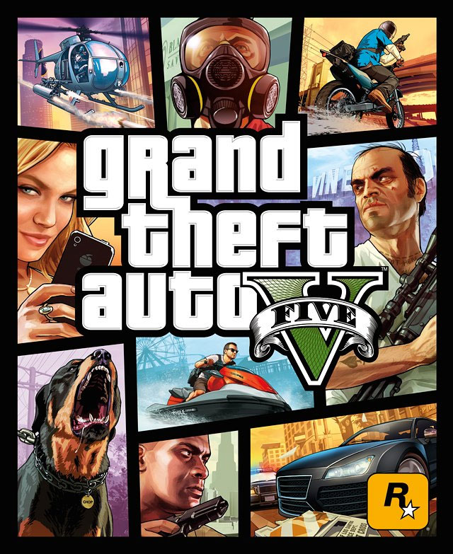 GTA 5 Box art