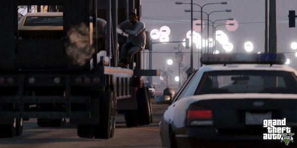 GTA 5 - vehicle transport