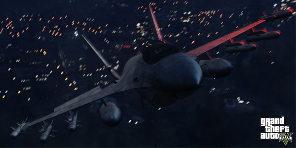 GTA 5 - Fighter Jets