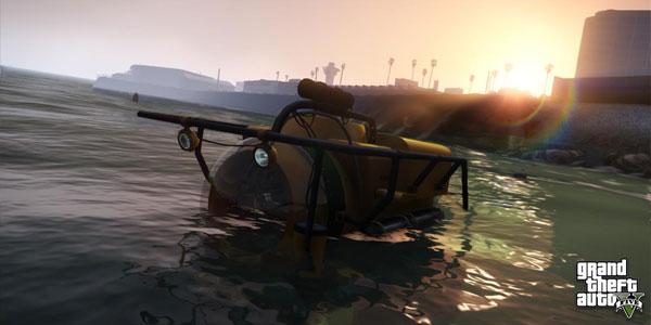 GTA 5 submarine