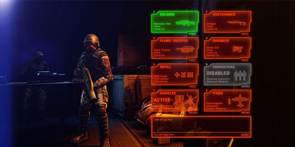 Renegade X Infantry Purchase Terminal