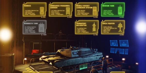 Renegade X Vehicle Purchase Terminal