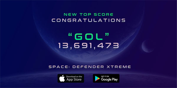 Space Defender Xtreme
