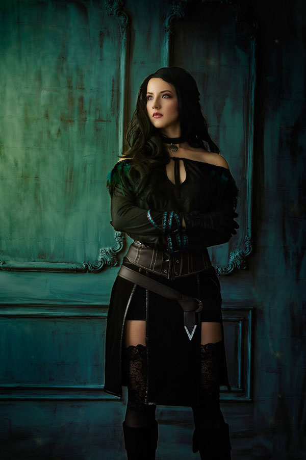 Yennefer: The Witcher Cosplay 2