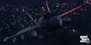 Grand Theft Auto 5: Flyable Jets and rideable Bikes