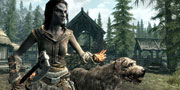 Skyrim: Dog Companion Image